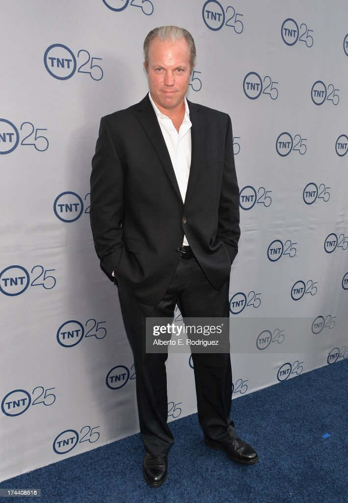 Actor <a gi-track='captionPersonalityLinkClicked' href=/galleries/search?phrase=Adam+Baldwin&family=editorial&specificpeople=742654 ng-click='$event.stopPropagation()'>Adam Baldwin</a> arrives to TNT's 25th Anniversary Party at The Beverly Hilton Hotel on July 24, 2013 in Beverly Hills, California.