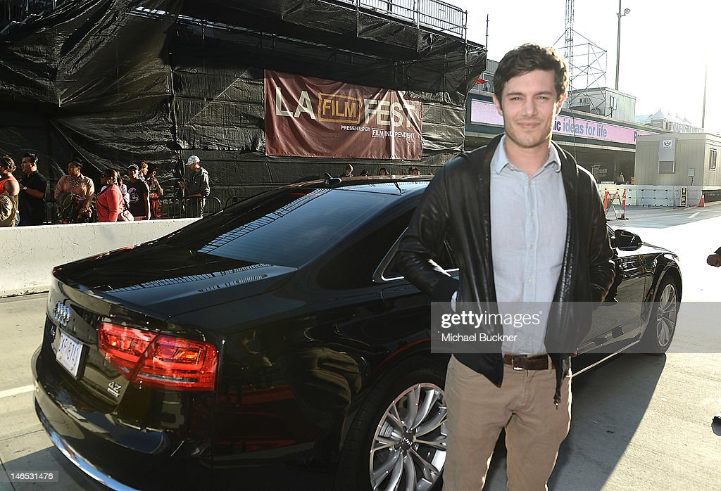 Actor <a gi-track='captionPersonalityLinkClicked' href=/galleries/search?phrase=Adam+Brody&family=editorial&specificpeople=213610 ng-click='$event.stopPropagation()'>Adam Brody</a> arrives at Focus Features' Premiere of 'Seeking A Friend For The End Of The World' at LA Live on June 18, 2012 in Los Angeles, California.