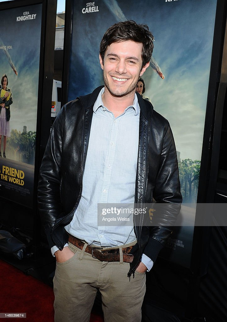 Actor <a gi-track='captionPersonalityLinkClicked' href=/galleries/search?phrase=Adam+Brody&family=editorial&specificpeople=213610 ng-click='$event.stopPropagation()'>Adam Brody</a> arrives at the premiere of 'Seeking a Friend for the End of the World' at the 2012 Los Angeles Film Festival held at Regal Cinemas L.A. Live on June 18, 2012 in Los Angeles, California.