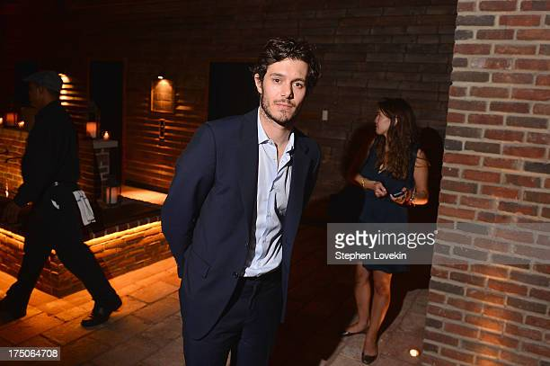 Actor Adam Brody attends The Cinema Society and MCM with Grey Goose screening of Radius TWC's 'Lovelace' After Party at Refinery Hotel on July 30...