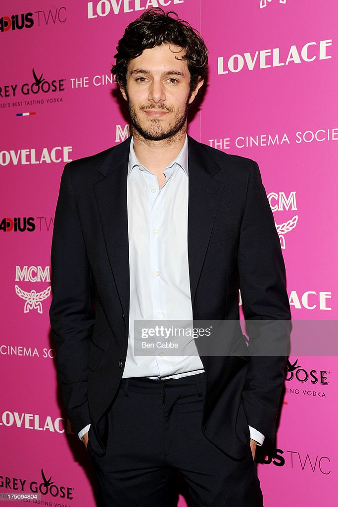 Actor Adam Brody attends The Cinema Society and MCM with Grey Goose host a screening of Radius TWC's 'Lovelace' at The Museum of Modern Art on July 30, 2013 in New York City.