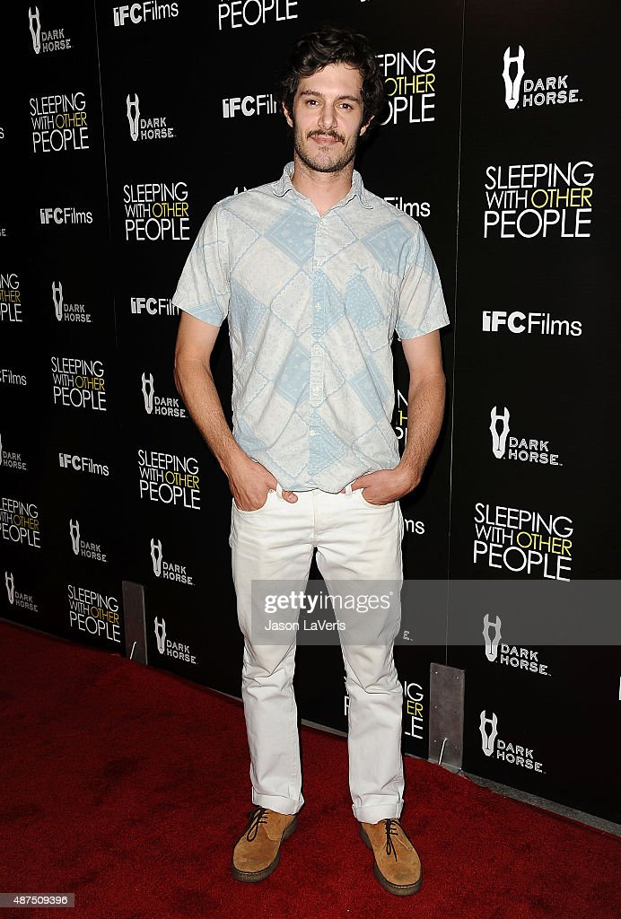 Actor Adam Brody attends the premiere of 'Sleeping With Other People' at ArcLight Cinemas on September 9, 2015 in Hollywood, California.