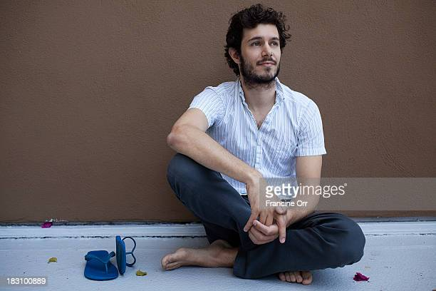 Actor Adam Brody is photographed for Los Angeles Times on August 16 2013 in Beverly Hills California PUBLISHED IMAGE CREDIT MUST READ Francine...