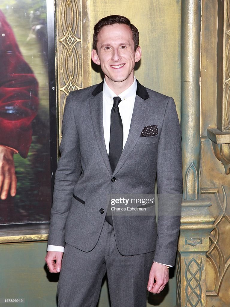 Actor Adam Brown attends 'The Hobbit: An Unexpected Journey' premiere at the Ziegfeld Theater on December 6, 2012 in New York City.