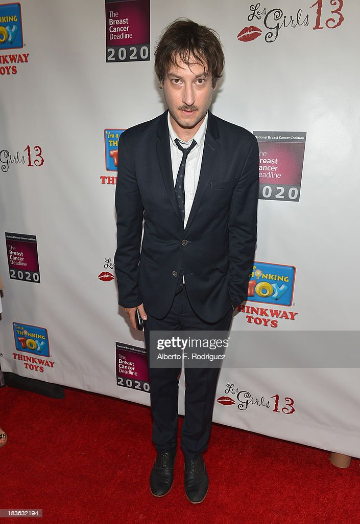 Actor Adam Busch attends The National Breast Cancer Coalition Fund presents The 13th Annual Les Girls at the Avalon on October 7, 2013 in Hollywood, California.