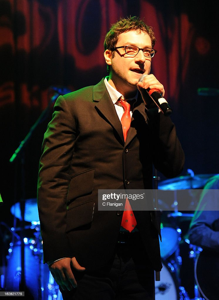 Actor Adam Busch performs during the San Francisco PETTY FEST at The Fillmore on February 27, 2013 in San Francisco, California.
