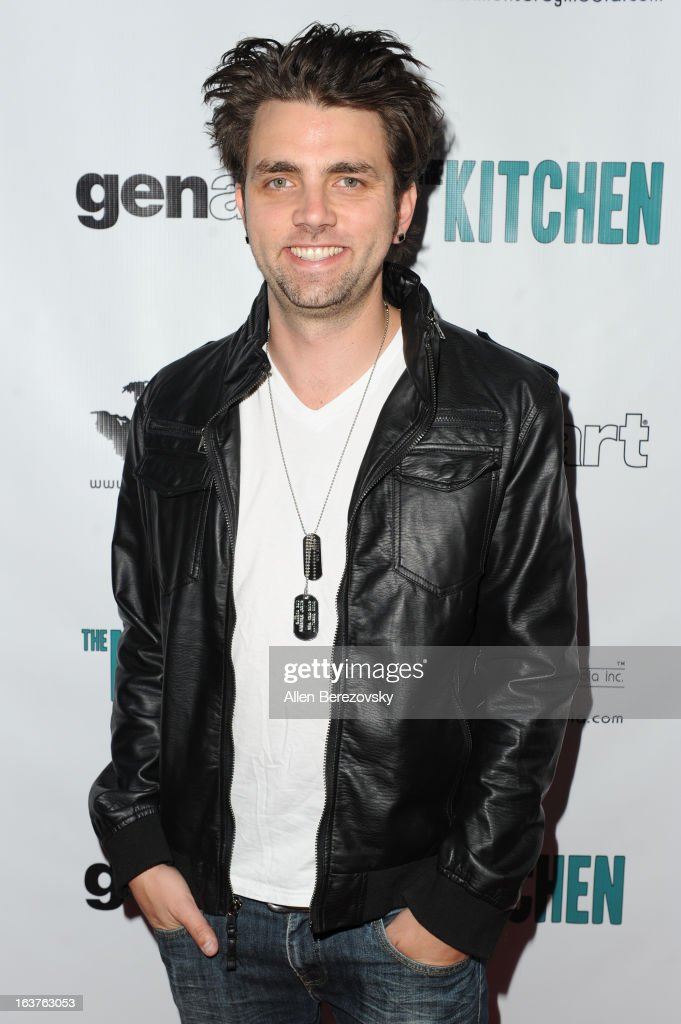 Actor <a gi-track='captionPersonalityLinkClicked' href=/galleries/search?phrase=Adam+Chambers&family=editorial&specificpeople=3122074 ng-click='$event.stopPropagation()'>Adam Chambers</a> arrives at the Los Angeles premiere of 'The Kitchen' at Laemmle NoHo 7 on March 14, 2013 in North Hollywood, California.