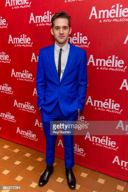 Actor Adam ChanlerBerat attends the 'Amelie' Broadway Opening Night After Party the at 30 Rockefeller Plaza on April 3 2017 in New York City