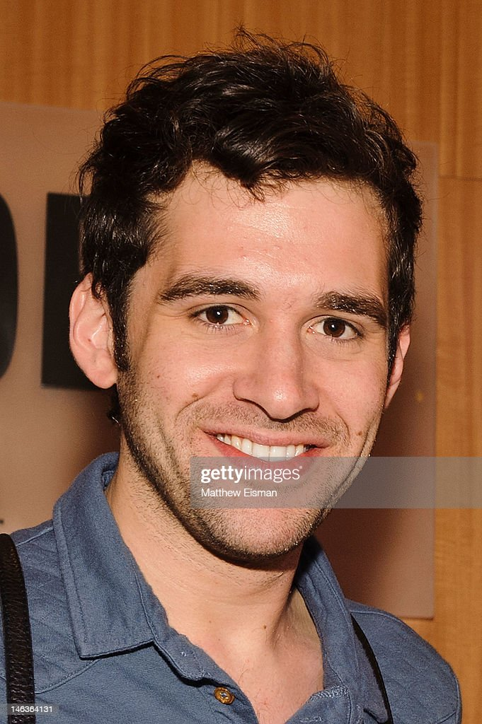 Actor Adam Chanler-Berat attends the 'Peter And The Starcatcher' Q & A and Autograph Signing at Barnes & Noble, 86th & Lexington on June 14, 2012 in New York City.