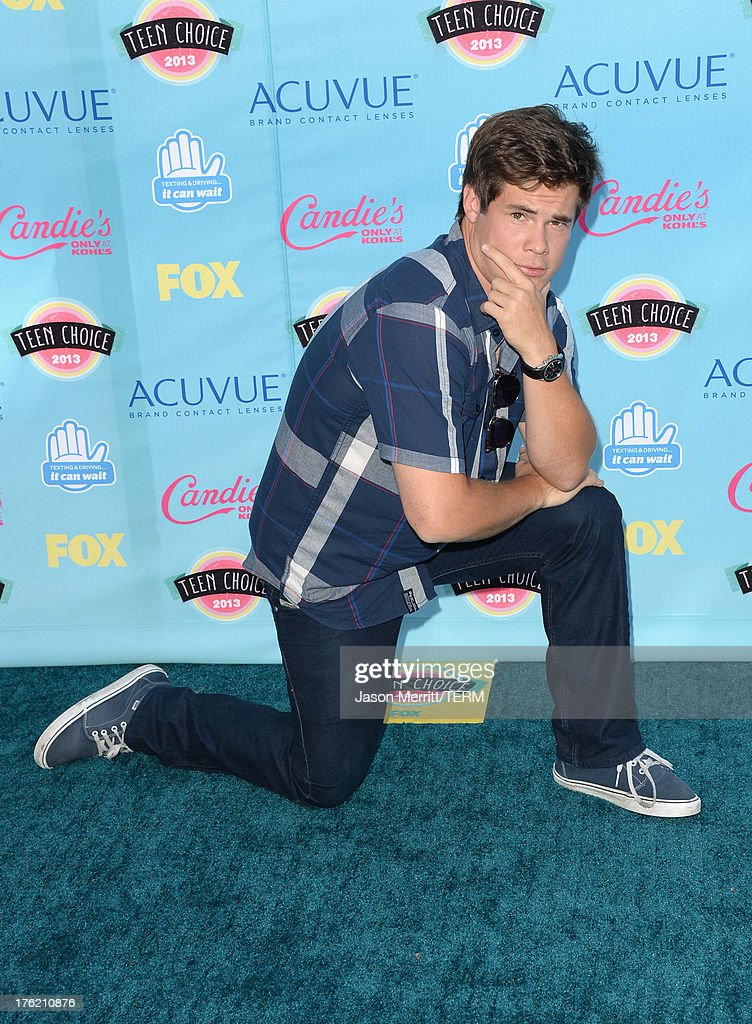 Actor Adam DeVine attends the Teen Choice Awards 2013 at Gibson Amphitheatre on August 11, 2013 in Universal City, California.