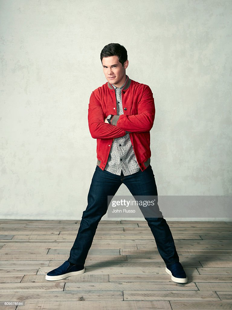 Actor Adam DeVine is photographed for 20th Century Fox on May 26, 2016 in Los Angeles, California.