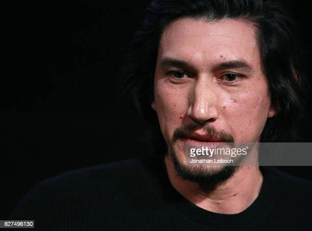 Actor Adam Driver at the American Cinematheque conversation with Director Martin Scorsese and Producer Irwin Winkler at the Egyptian Theatre on...