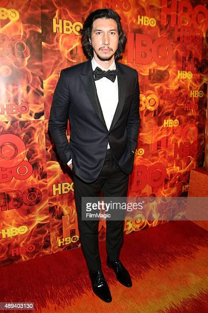 Actor Adam Driver attends HBO's Official 2015 Emmy After Party at The Plaza at the Pacific Design Center on September 20 2015 in Los Angeles...