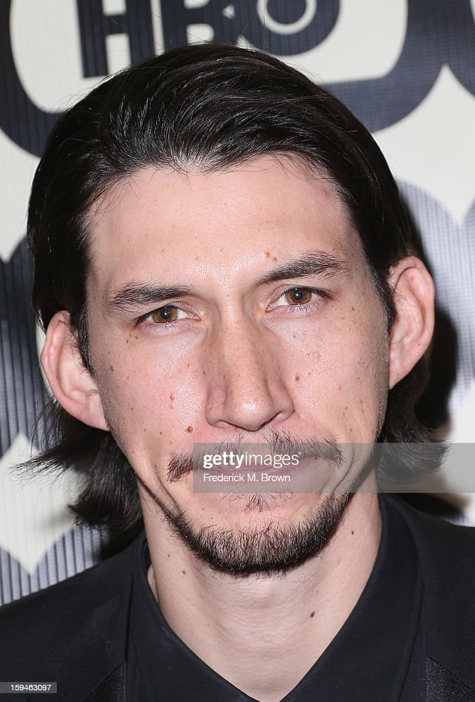 Actor Adam Driver attends HBO's Post 2013 Golden Globe Awards Party held at Circa 55 Restaurant at the Beverly Hilton Hotel on January 13, 2013 in Beverly Hills, California.