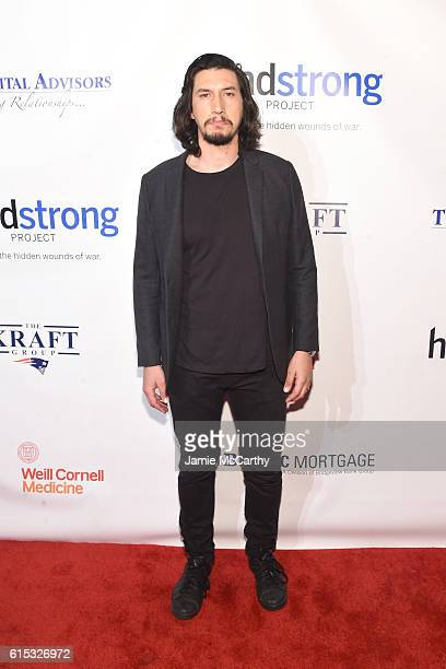 Actor Adam Driver attends Headstrong Project Words Of War Gala at Pier 60 on October 17 2016 in New York City
