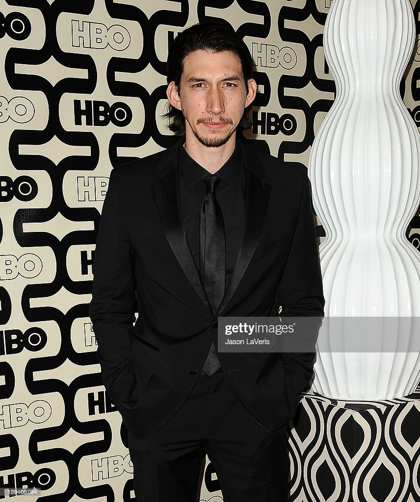 Actor Adam Driver attends the HBO after party at the 70th annual Golden Globe Awards at Circa 55 restaurant at the Beverly Hilton Hotel on January 13, 2013 in Los Angeles, California.