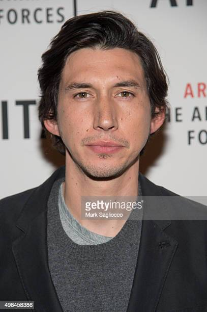 Actor Adam Driver attends the 'Lobby Hero' Photo Call at Studio 54 on November 9 2015 in New York City