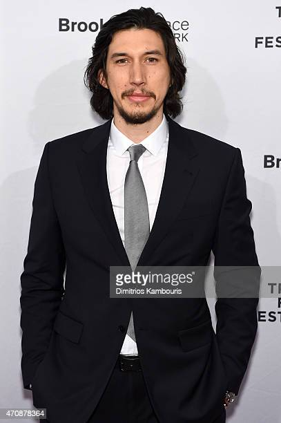 Actor Adam Driver attends the premiere of 'Hungry Hearts' during the 2015 Tribeca Film Festival at the SVA Theater on April 23 2015 in New York City