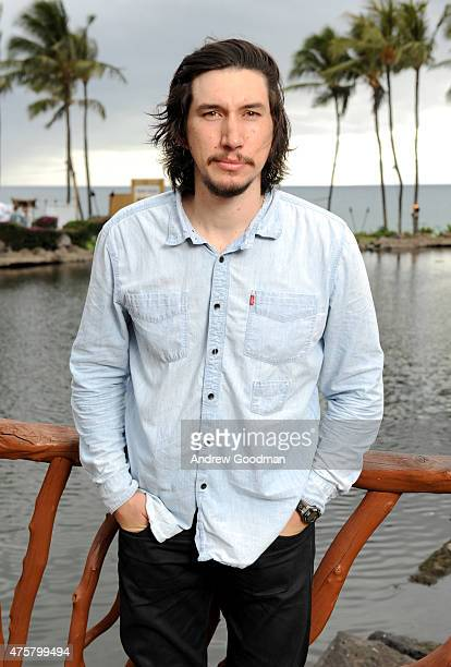 Actor Adam Driver attends the Taste of Summer Opening Night Party during the 2015 Maui Film Festival at Grand Wailea on June 3 2015 in Wailea Hawaii