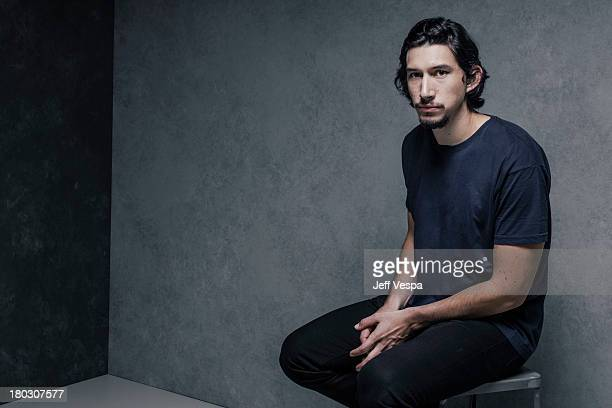Actor Adam Driver is photographed at the Toronto Film Festival on September 10 2013 in Toronto Ontario