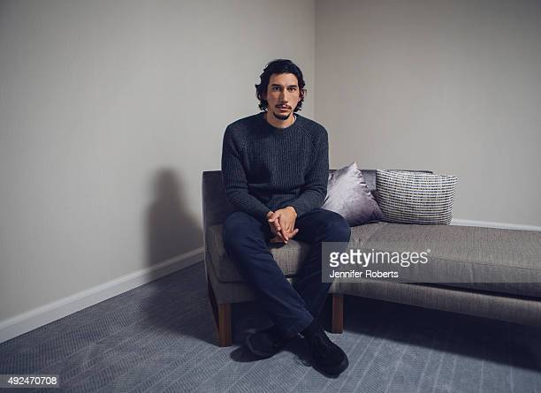 Actor Adam Driver is photographed for The Globe and Mail on September 5 2013 in Toronto Ontario