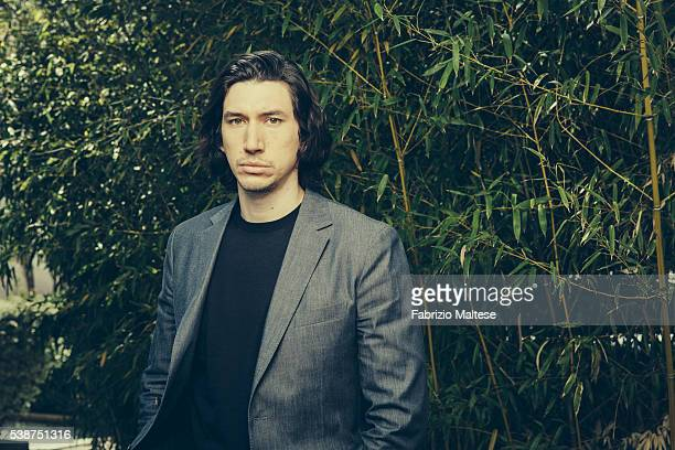 Actor Adam Driver is photographed for The Hollywood Reporter on May 14 2016 in Cannes France ON INTERNATIONAL EMBARGO UNTIL AUGUST 25 2016