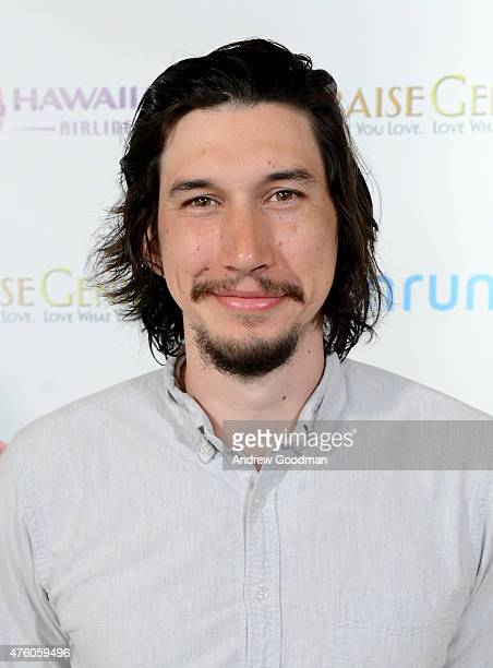 Actor Adam Driver recipient of 2015 Maui Film Festival Shining Star Award attends day three of the 2015 Maui Film Festival at the Four Seasons Maui...