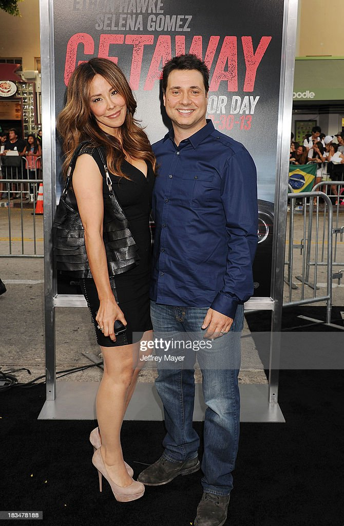 Actor Adam Ferrara arrives at the 'Getaway' - Los Angeles Premiere at Regency Village Theatre on August 26, 2013 in Westwood, California.