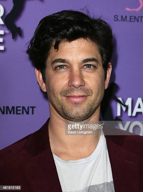 Actor Adam Garcia attends a screening of 'Make Your Move' at Pacific Theatre at The Grove on March 31 2014 in Los Angeles California