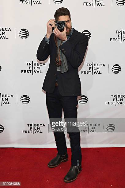 Actor Adam Goldberg attends the 'Rebirth' Premiere during the 2016 Tribeca Film Festivalat SVA Theatre 2 on April 17 2016 in New York City