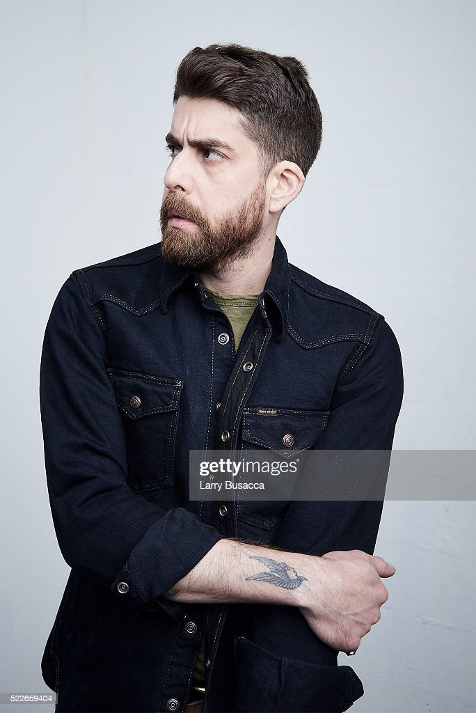 Actor Adam Goldberg 'Rebirth' poses at the Tribeca Film Festival Getty Images Studio on April 19, 2016 in New York City.