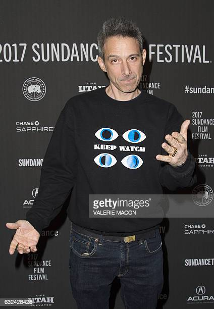 Actor Adam Horovitz attends 'Golden Exits' Premiere at Library Center Theatre during the 2017 Sundance Film Festival in Park City Utah January 22...