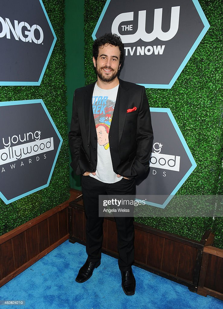 Actor Adam Korson attends the 2014 Young Hollywood Awards brought to you by Samsung Galaxy at The Wiltern on July 27, 2014 in Los Angeles, California.