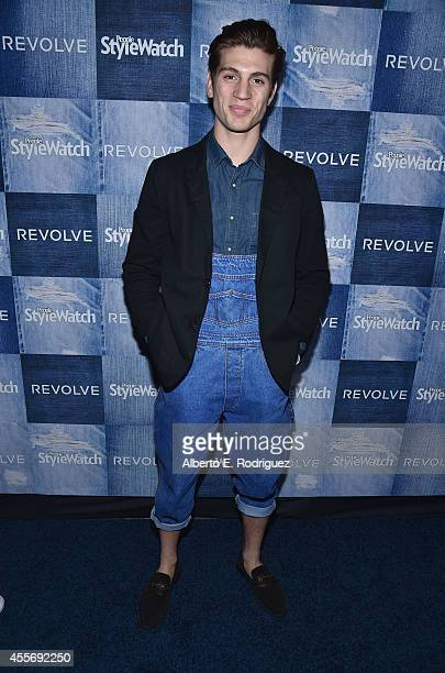 Actor Adam Miller attends the People StyleWatch Denim Event at The Line on September 18 2014 in Los Angeles California