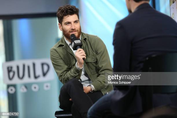 Actor Adam Pally attends Build Series Presents Adam Pally Discussing 'Making History' at Build Studio on March 15 2017 in New York City