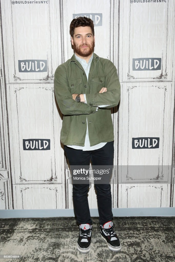 Actor Adam Pally attends Build Series Presents Adam Pally Discussing 'Making History' at Build Studio on March 15, 2017 in New York City.