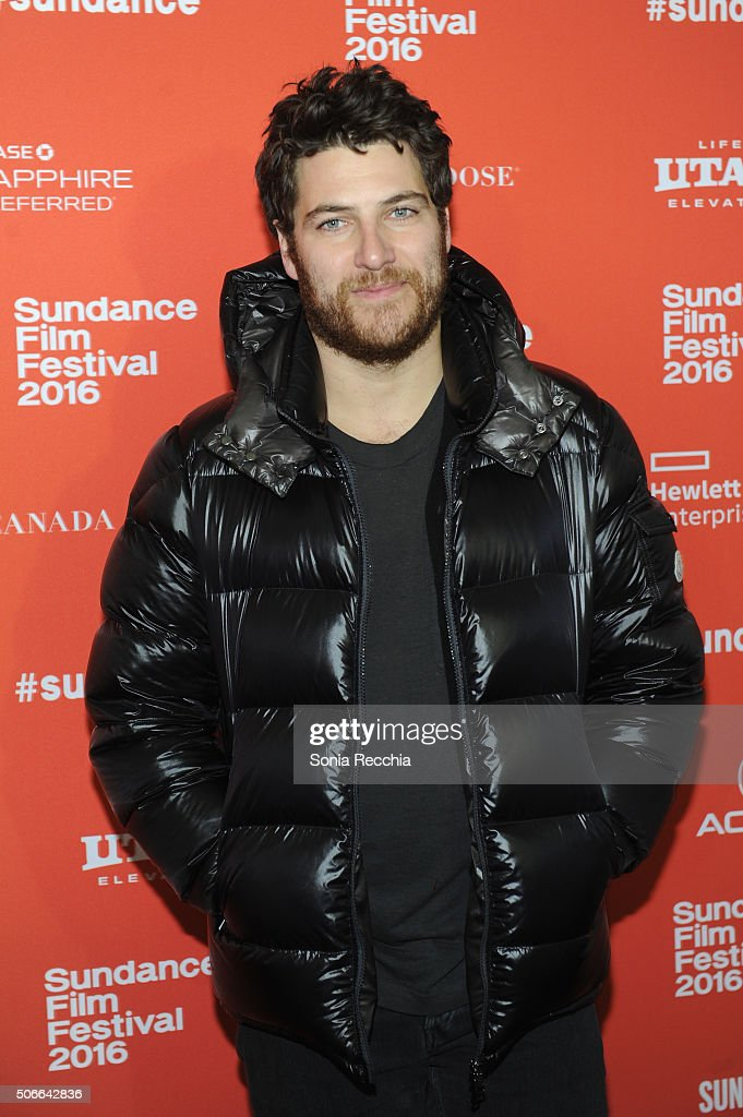 Actor Adam Pally attends the 'Joshy' Premiere during the 2016 Sundance Film Festival at Library Center Theater on January 24, 2016 in Park City, Utah.