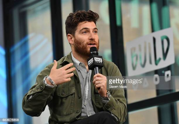 Actor Adam Pally discusses his new comedy series 'Making History' at Build Series at Build Studio on March 15 2017 in New York City