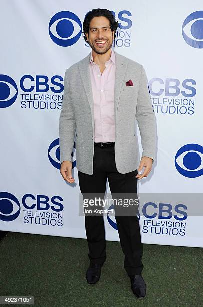 Actor Adam Rodriguez arrives at the CBS Summer Soiree at The London West Hollywood on May 19 2014 in West Hollywood California