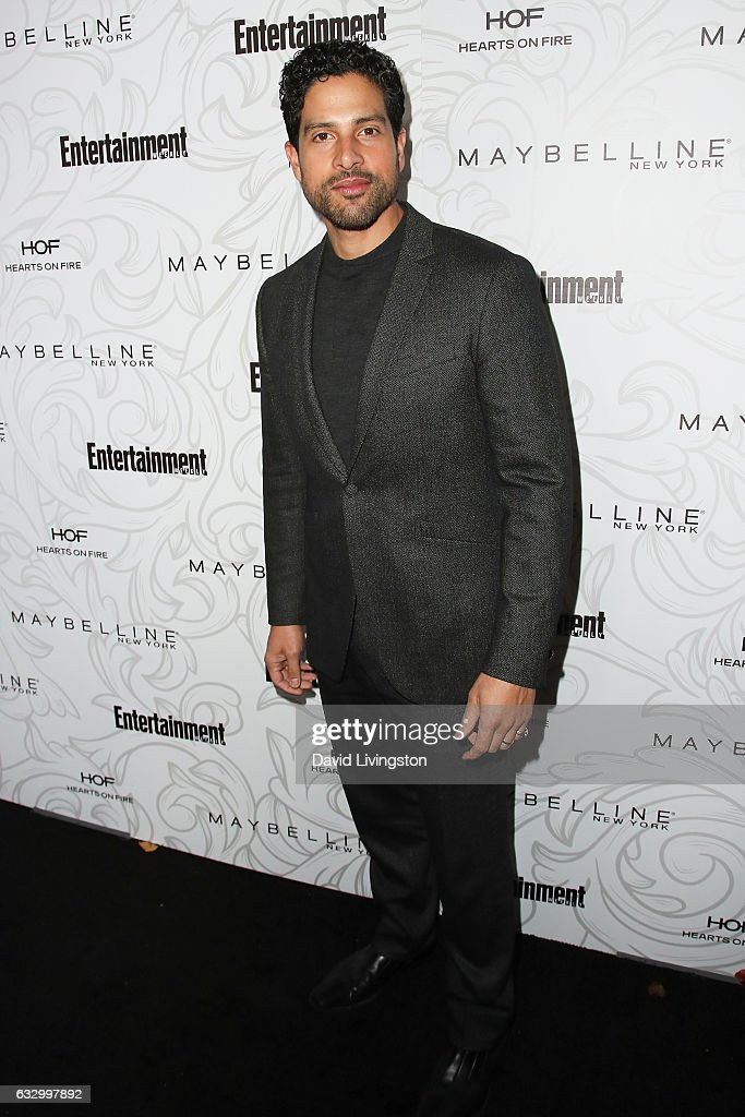Actor Adam Rodriguez arrives at the Entertainment Weekly celebration honoring nominees for The Screen Actors Guild Awards at the Chateau Marmont on January 28, 2017 in Los Angeles, California.