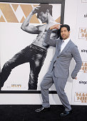 Actor Adam Rodriguez arrives at the Los Angeles World Premiere of Warner Bros Pictures' 'Magic Mike XXL' at TCL Chinese Theatre IMAX on June 25 2015...