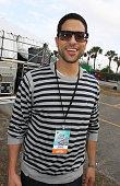 Actor Adam Rodriguez attends Jazz In The Gardens 2010 on March 21 2010 in Miami Gardens Florida