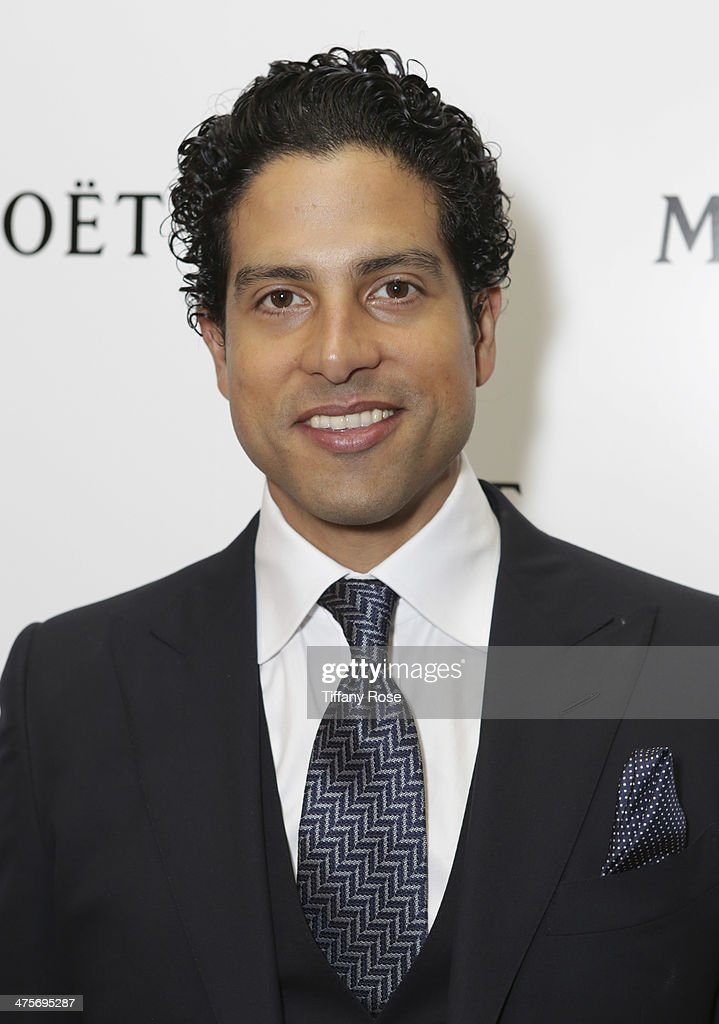 Actor Adam Rodriguez attends Moet At The 17th Annual National Hispanic Media Coalition Impact Awards at the Beverly Wilshire Four Seasons Hotel on February 28, 2014 in Beverly Hills, California.