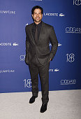Actor Adam Rodriguez attends the 18th Costume Designers Guild Awards at The Beverly Hilton Hotel on February 23 2016 in Beverly Hills California
