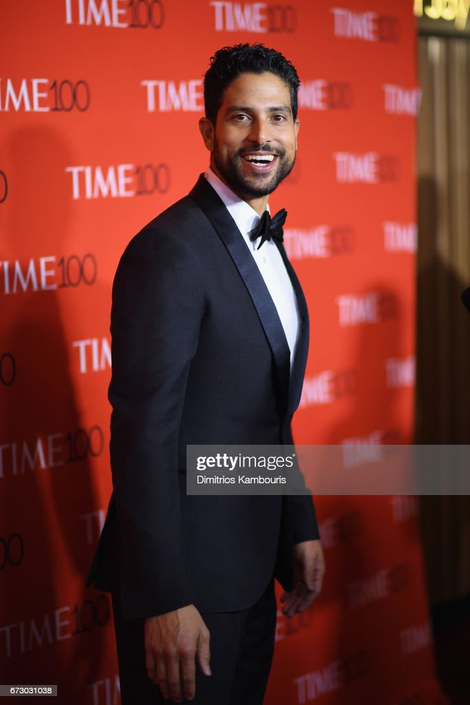 Actor Adam Rodriguez attends the 2017 Time 100 Gala at Jazz at Lincoln Center on April 25, 2017 in New York City.