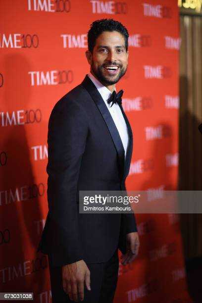 Actor Adam Rodriguez attends the 2017 Time 100 Gala at Jazz at Lincoln Center on April 25 2017 in New York City