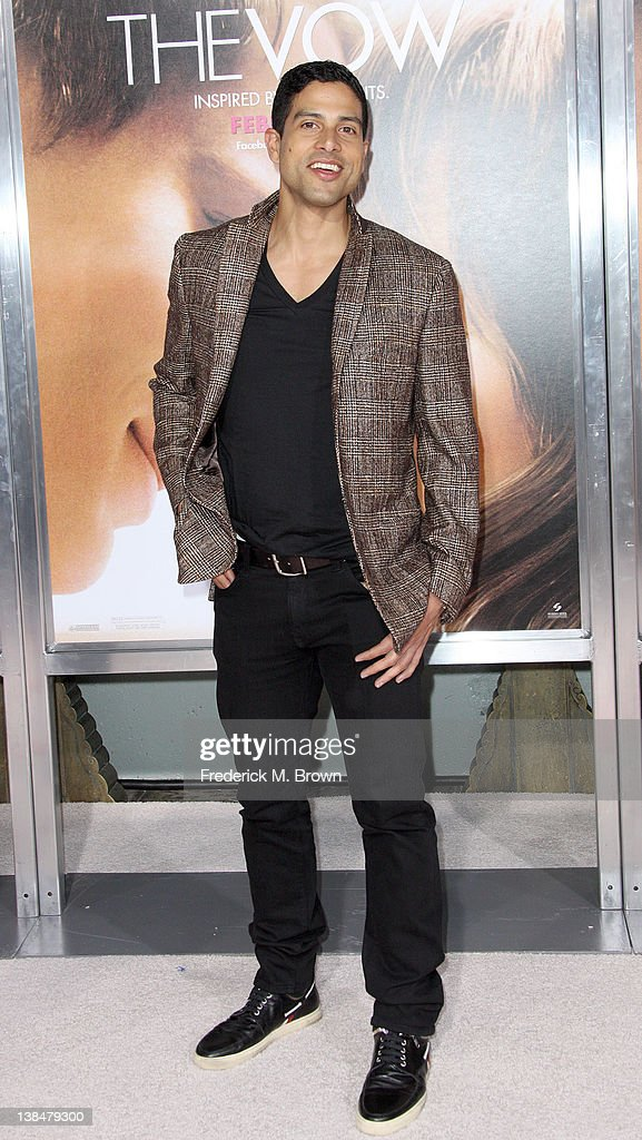 Actor <a gi-track='captionPersonalityLinkClicked' href=/galleries/search?phrase=Adam+Rodriguez&family=editorial&specificpeople=212837 ng-click='$event.stopPropagation()'>Adam Rodriguez</a> attends the Premiere of Sony Pictures' 'The Vow' at Grauman's Chinese Theatre on February 6, 2012 in Hollywood, California.