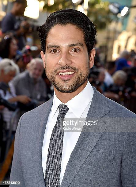 Actor Adam Rodriguez attends the premiere of Warner Bros Pictures' 'Magic Mike XXL' at TCL Chinese Theatre IMAX on June 25 2015 in Hollywood...