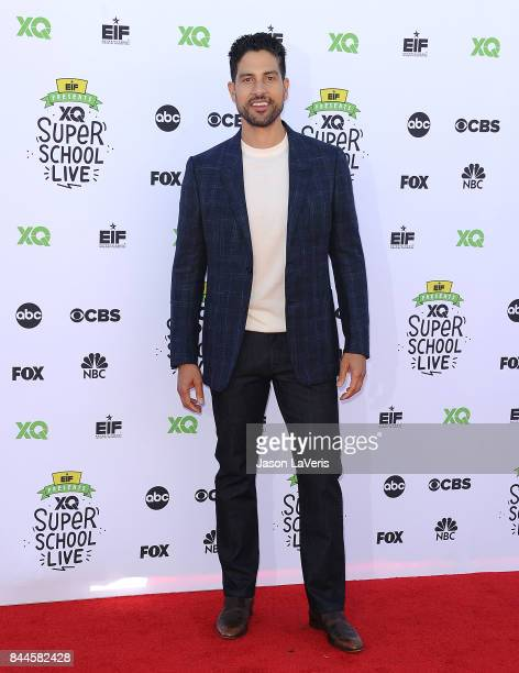 Actor Adam Rodriguez attends XQ Super School Live at The Barker Hanger on September 8 2017 in Santa Monica California