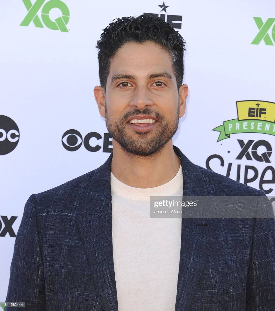Actor Adam Rodriguez attends XQ Super School Live at The Barker Hanger on September 8, 2017 in Santa Monica, California.